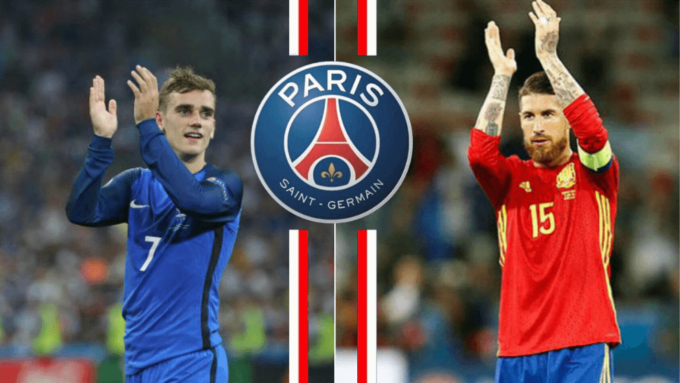 Griezmann, and Ramos in the line of fire of the PSG- According to El Chiringuito, the famous Spanish TV show, PSG is going to distribute millions of euros to build up a pharaonic team_24hfootnews