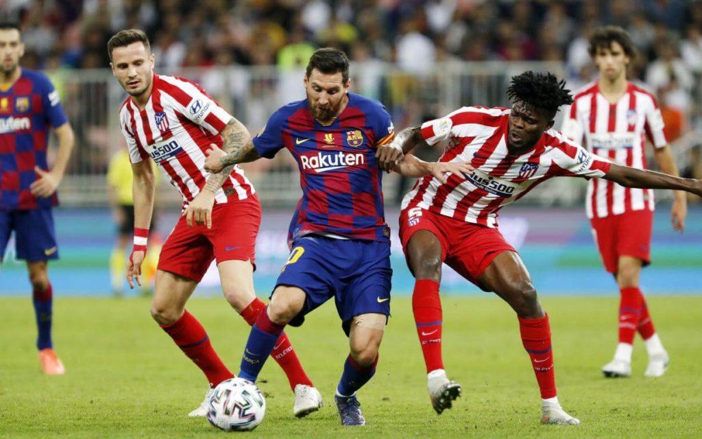 Atl.-Madrid-FC-Barcelona-today-Simeone-challenges-Griezmann_24hfootnews-lionel_messi_fc-barcelona_antoine_griezmann_diego_simeone