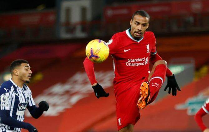 Liverpool-Joël Matip touched to the adductor muscles-joel-matip-liverpool-24hfootnews