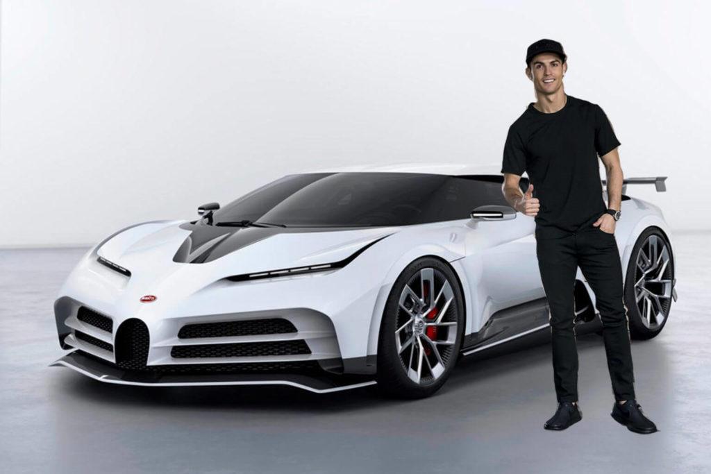cristiano ronaldo car-collection